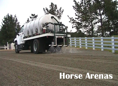 Dust Control For Horse Arenas - Dust-Off